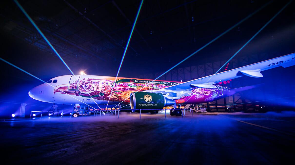 Tomorrowland unveils its own custom airplane, AMARETomorrowland Amari