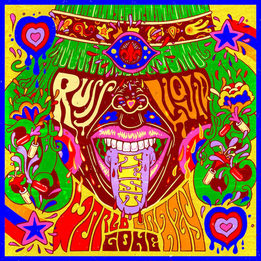 Stream The Russ Liquid Test's genre-bending 7-track 'World Gone Crazy' EPRuss Liquid World Gone Crazy EP Artwork 1