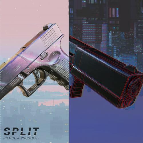 Pierce & 2SCOOPS – SPLITPierce 2scoops Split