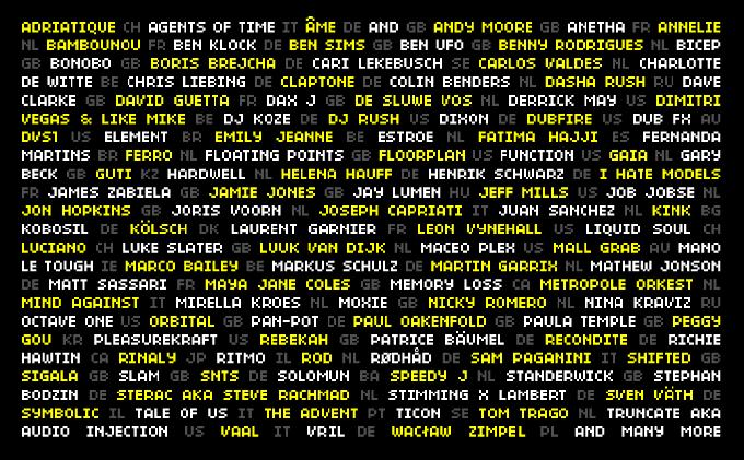 ADE begins revealing names of 2,500-strong 2018 artist roster – Richie Hawtin, Martin Garrix, Jon Hopkins, & MoreADE Lineup